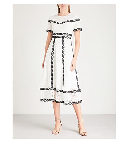 Maje Dresses ROWAN FLORAL-EMBROIDERED DRESS