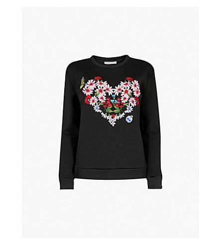 ab0647c813 MAJE - Telbi embroidered jersey sweatshirt