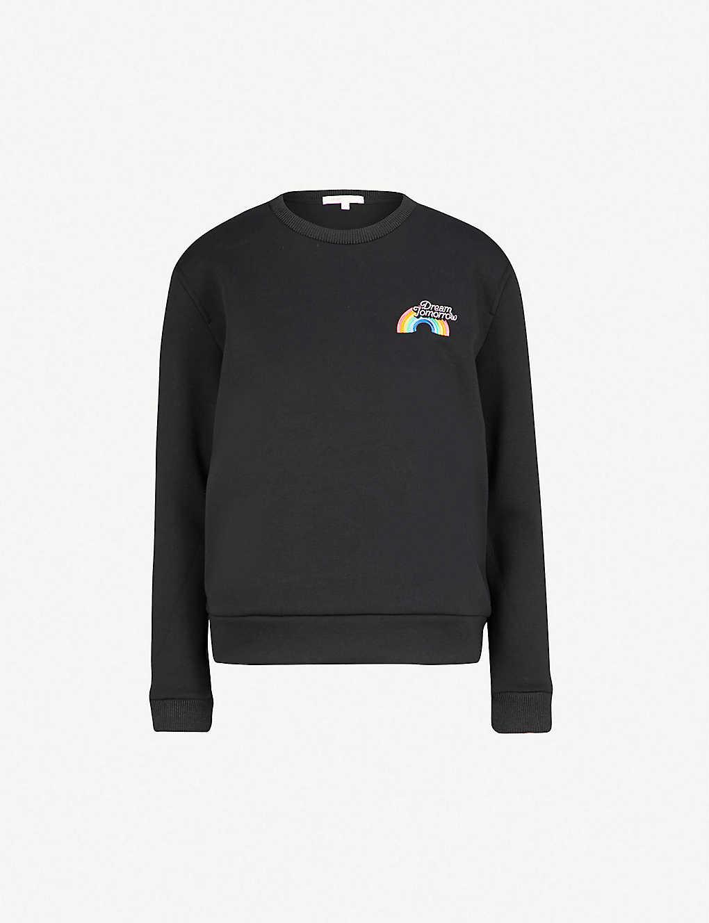 a328d61caf MAJE - Dream Tomorrow-print jersey sweatshirt