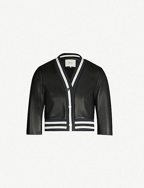 58d73bae Discover Maje women's dresses, jackets and knitwear for a nonchalant ...