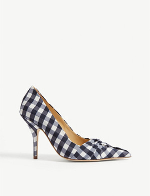 MAJE Gingham print courts