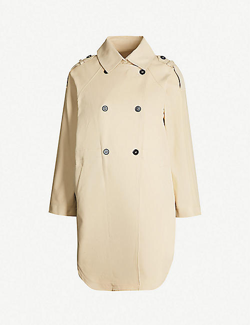 MAJE Oversized trench coat