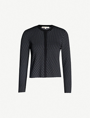 MAJE Malicia buttoned-down knitted cardigan