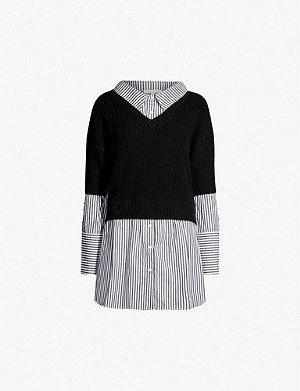 MAJE Merlin cotton-blend jumper
