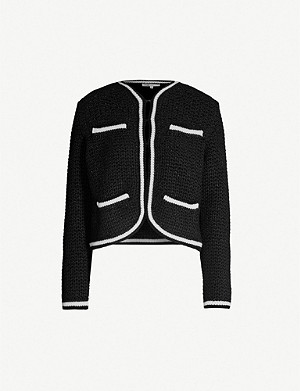 MAJE Heavy-knit cardigan