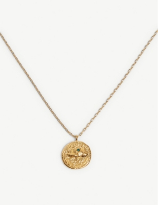 MAJE Mon Chou medallion necklace