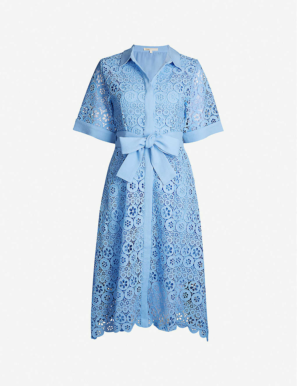 3e63a9afbf MAJE - Embroidered guipure-lace dress