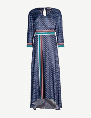 Maje Dresses REANNE PRINTED CREPE DRESS