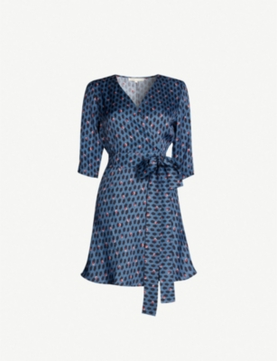 Maje Dresses REANNY PRINTED CREPE DRESS