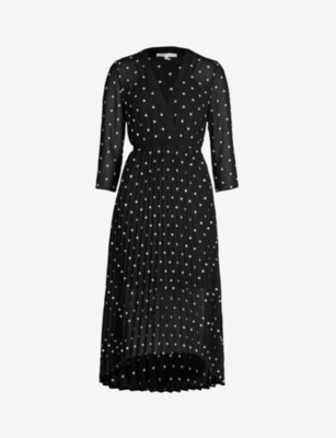 Maje Dresses RIVOLIO DAISY PRINT CREPE DRESS