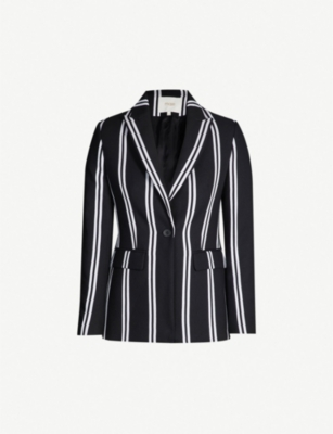MAJE Vakila striped twill jacket
