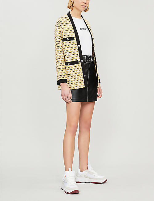 MAJE Visidore cotton-blend tweed jacket