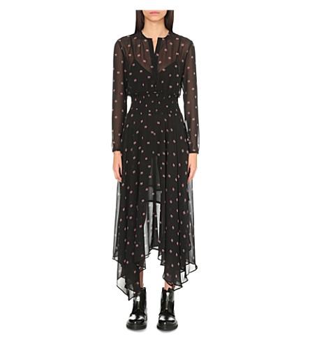 971b3be494ae MAJE - Ramini printed chiffon maxi dress | Selfridges.com