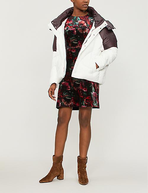 b9c865e80c5f MAJE Brax shell-down hooded puffer jacket