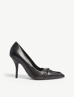 MAJE Fabulous leather courts