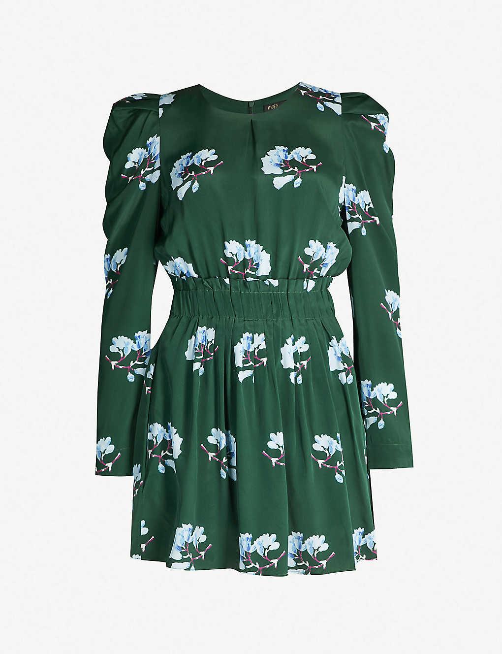 2753983e5c36 MAJE - Ikoise floral-print woven dress   Selfridges.com