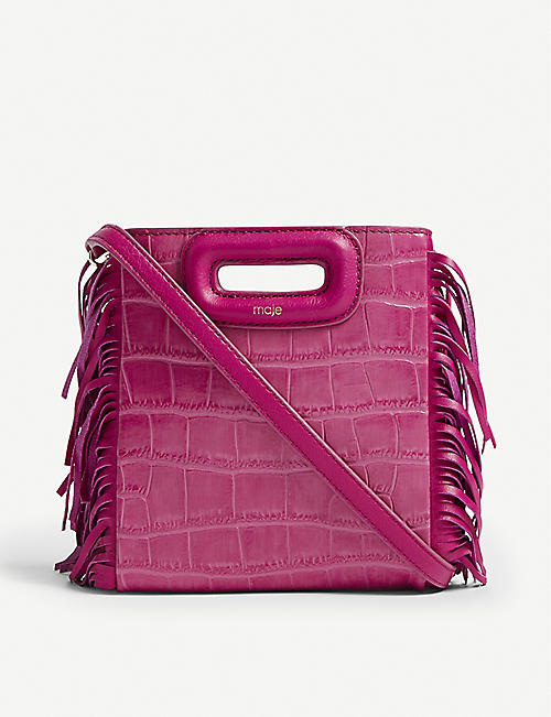 MAJE Mini M shoulder bag 083e6fd5b1188