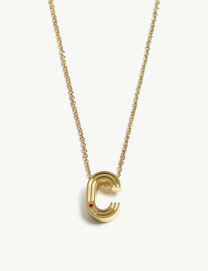 MAJE C initial necklace