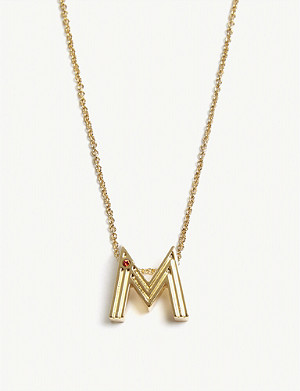 MAJE M initial necklace