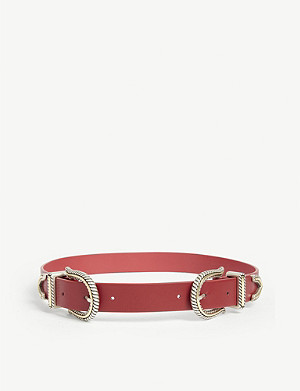 MAJE Arioli leather belt