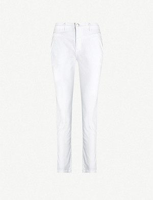 MAJE Poesie tapered high-rise jeans