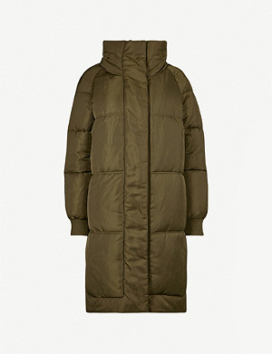 MAJE Gombdun high-neck padded shell coat