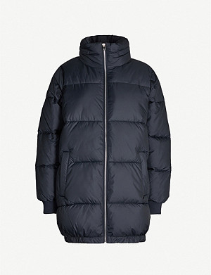 MAJE Oversized padded shell coat