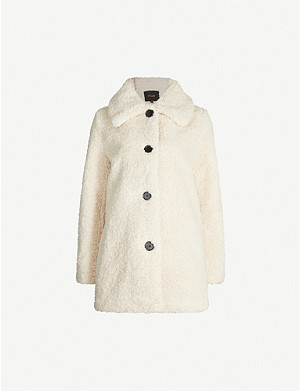 MAJE Gatino faux-fur coat