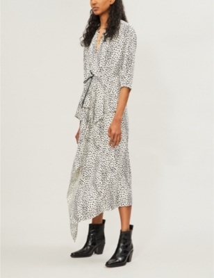 Rosa Woven Dress by Maje