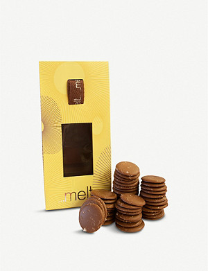 MELT Milk chocolate sea salted discs 150g