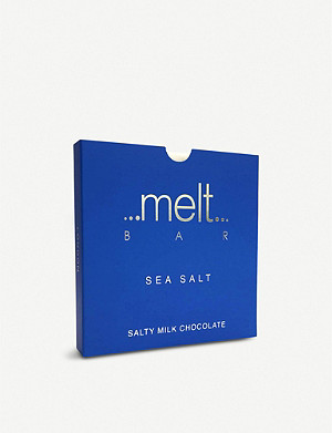 MELT Sea salted milk and dark chocolate bars pack of three