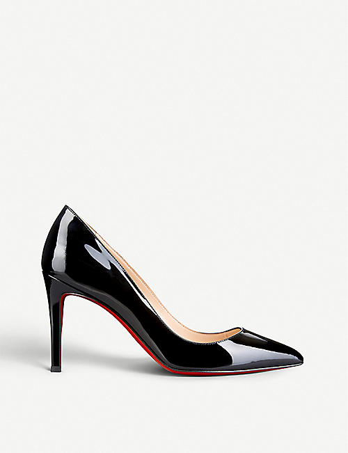 CHRISTIAN LOUBOUTIN Pigalle 85 patent calf 9fcdc963331
