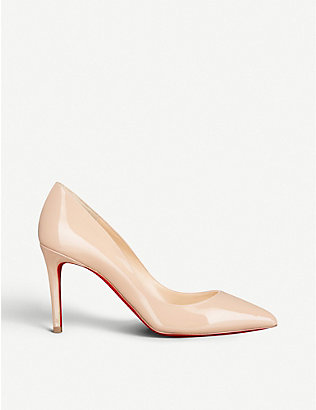 CHRISTIAN LOUBOUTIN: Pigalle 85 patent calf