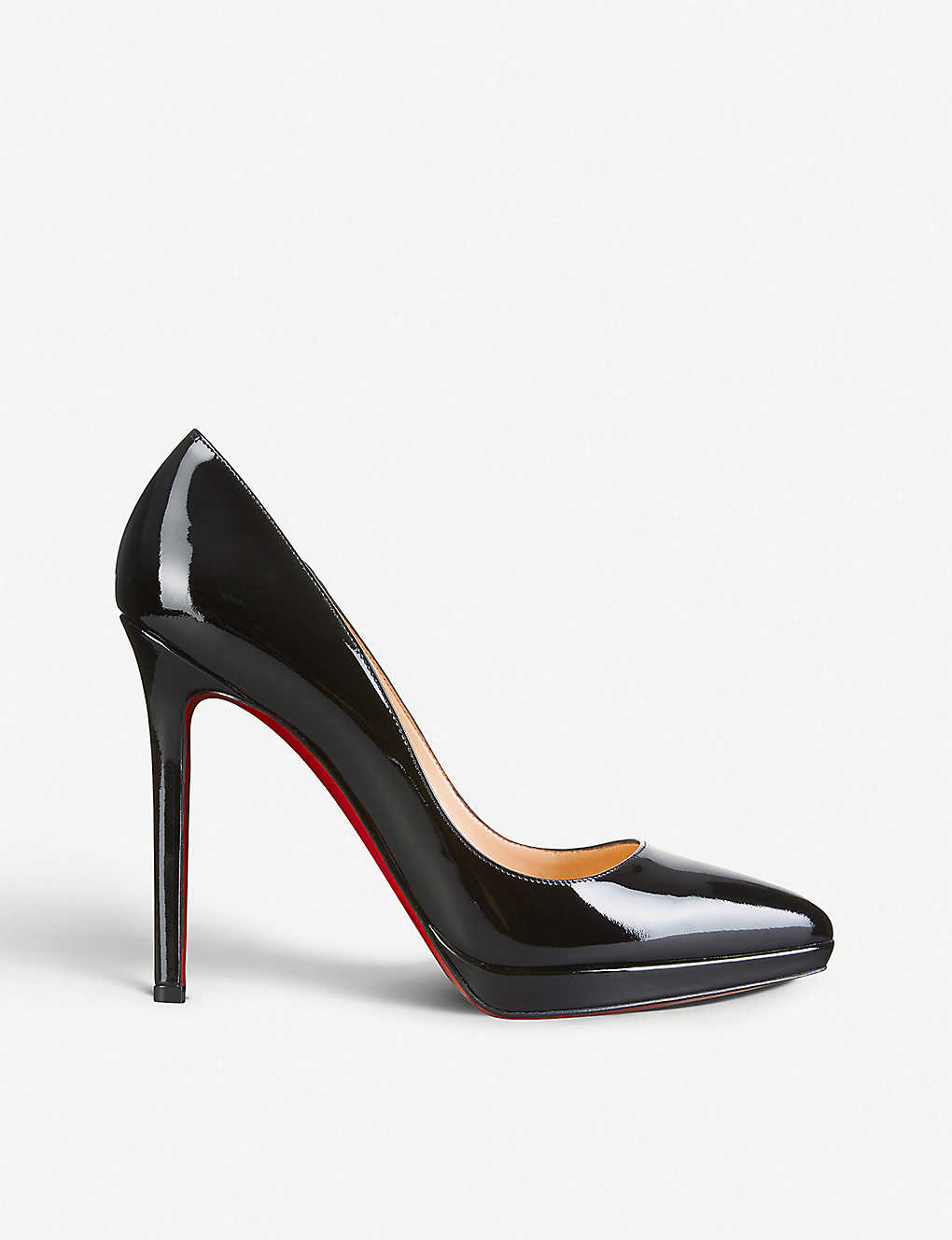 56c29c0594f1 CHRISTIAN LOUBOUTIN - Pigalle plato 120 patent calf
