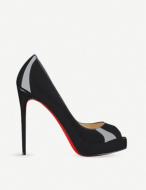 CHRISTIAN LOUBOUTIN:New Very Prive 120 漆皮鞋