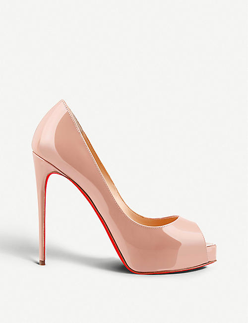 CHRISTIAN LOUBOUTIN: New Very Prive 120 patent