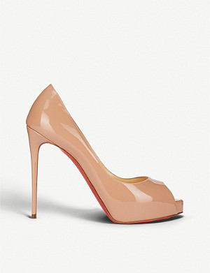 CHRISTIAN LOUBOUTIN New Very Prive 120 patent heels