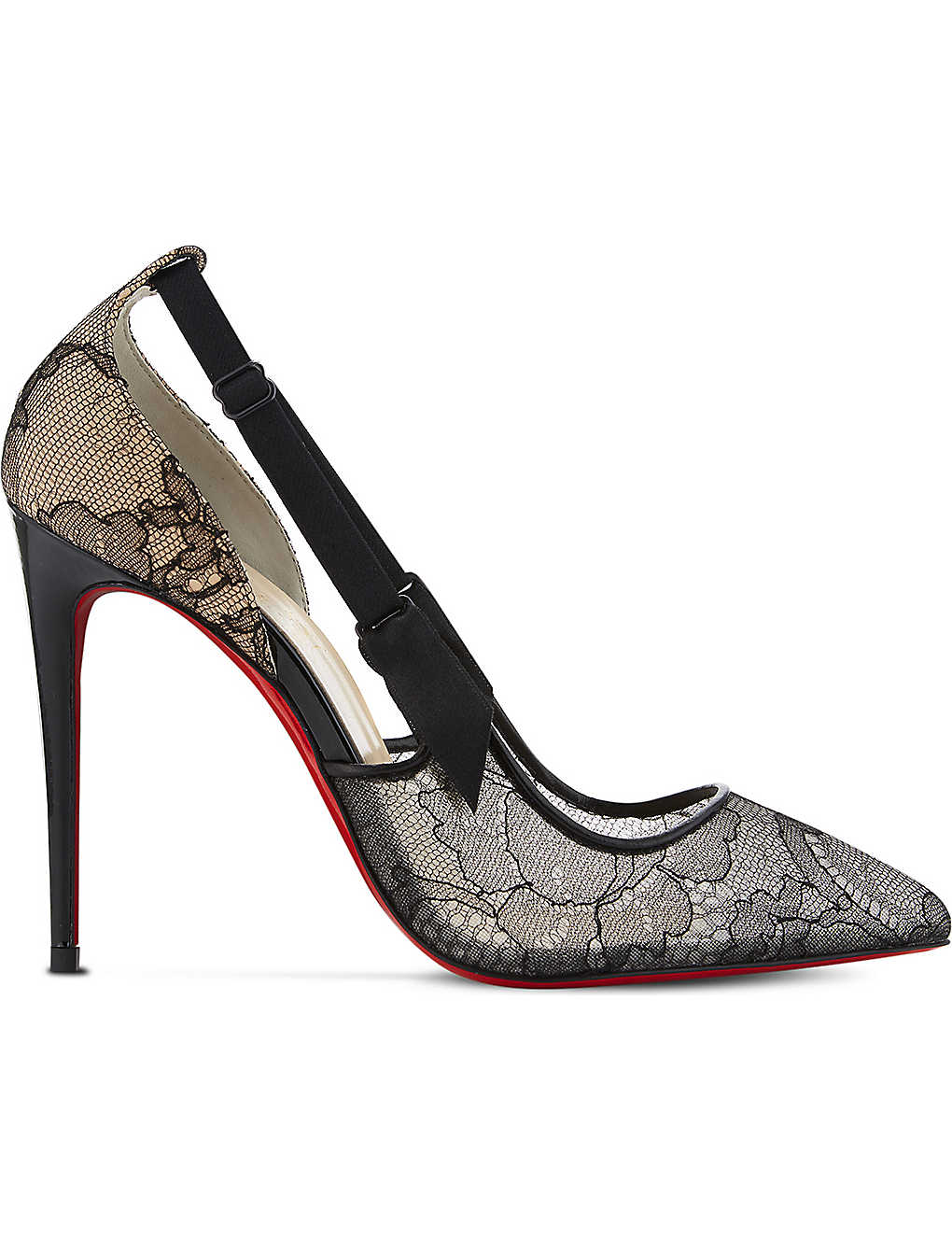 lowest price 3127d b0389 CHRISTIAN LOUBOUTIN - Hot Jeanbi 100 chantilly/patent ...