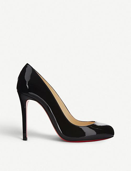 separation shoes c5dcd c65af CHRISTIAN LOUBOUTIN - Fifille 100 patent calf | Selfridges.com