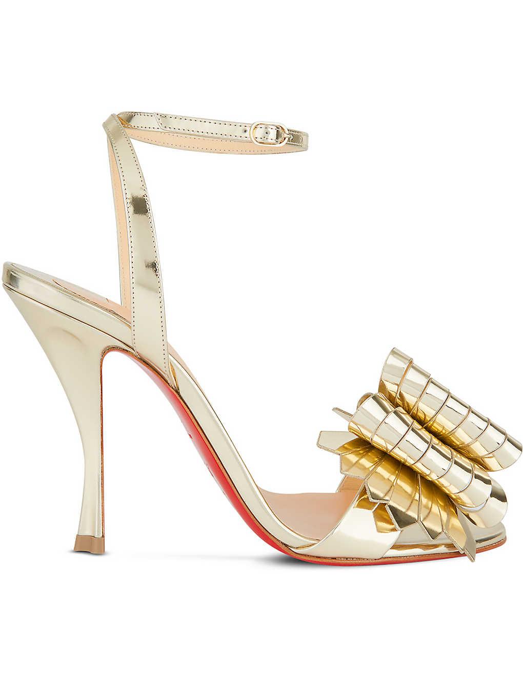 huge discount 3274c a152e CHRISTIAN LOUBOUTIN - Miss Valois 100 Specchio | Selfridges.com