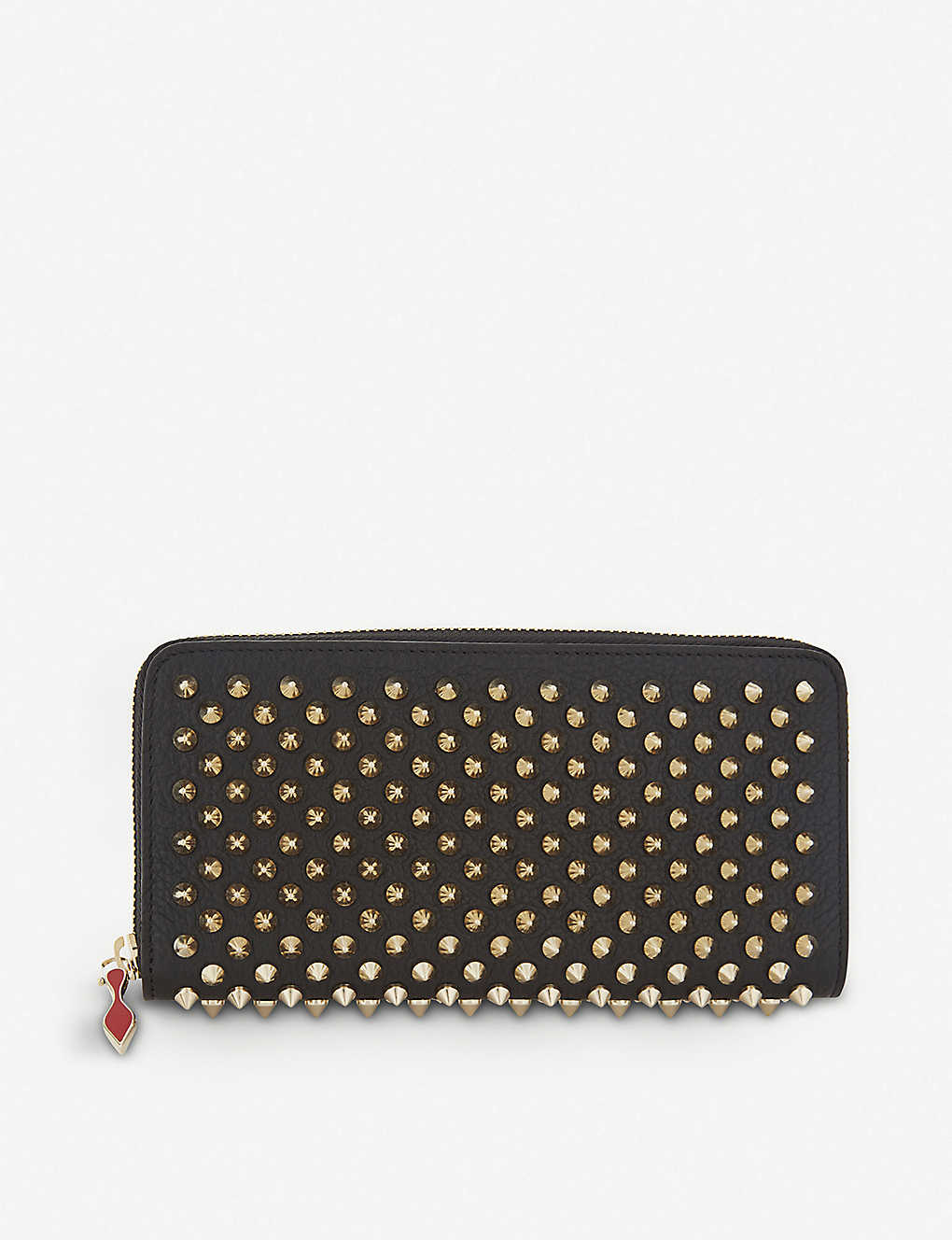 03005c53e4 CHRISTIAN LOUBOUTIN - Panettone leather wallet | Selfridges.com