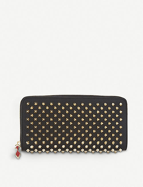 CHRISTIAN LOUBOUTIN: Panettone leather wallet