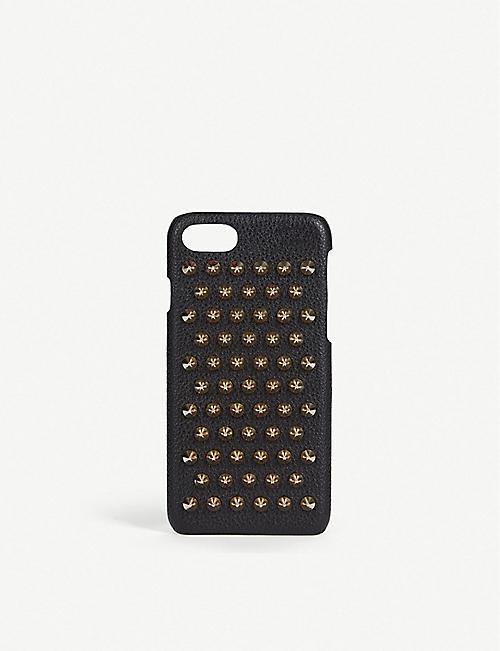 23711eda449 CHRISTIAN LOUBOUTIN - Loubiphone iPhone 7/8 case   Selfridges.com