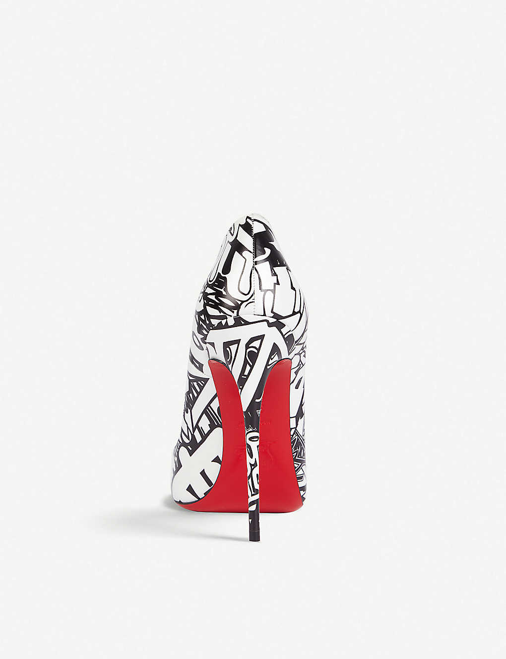 c4eefff05d68 CHRISTIAN LOUBOUTIN - So Kate 120 calf wallgraf black-white ...
