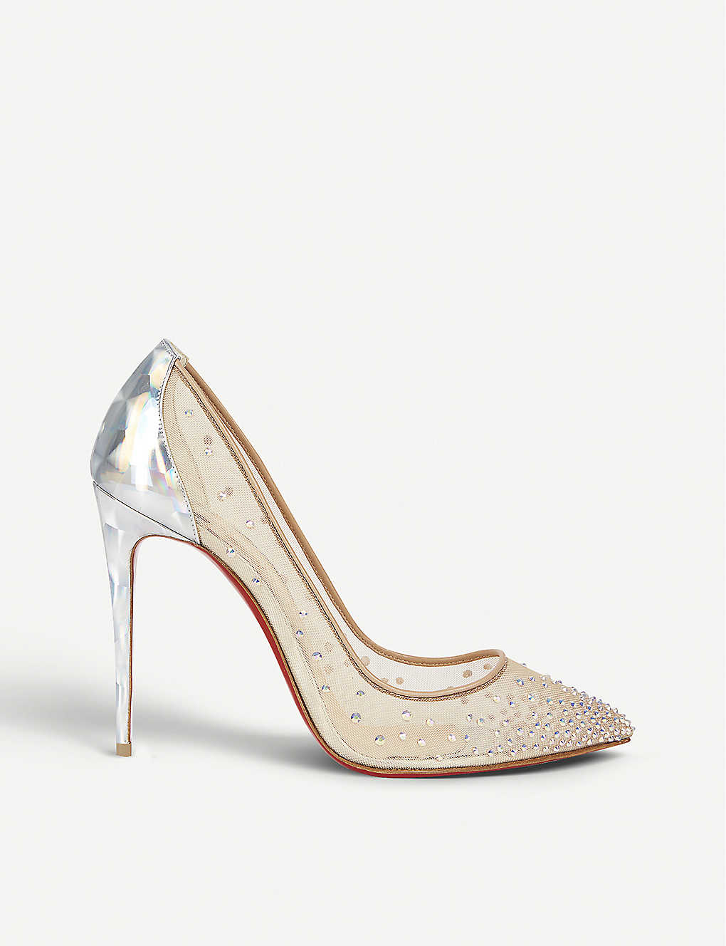 550929c0d2aa CHRISTIAN LOUBOUTIN - Follies strass 100 rete prisme version s ...