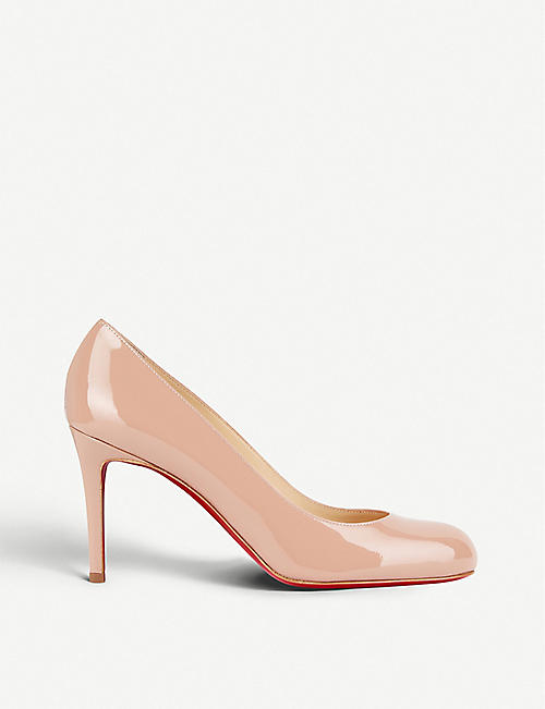 016af8cbf94 CHRISTIAN LOUBOUTIN - Simple pump 85 patent calf | Selfridges.com