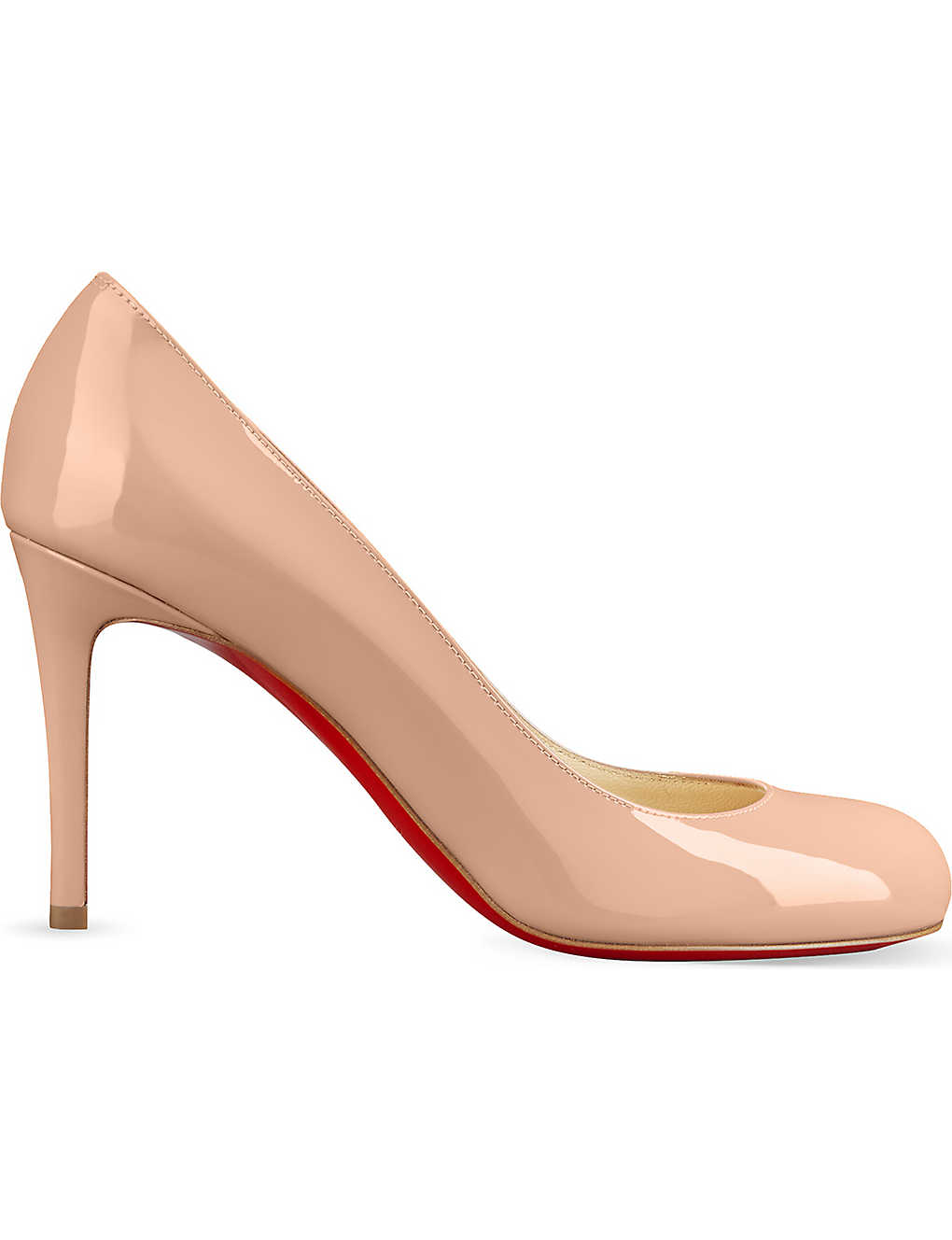 CHRISTIAN LOUBOUTIN: Simple Pump 85 patent calf