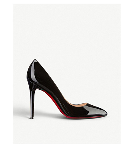 ... CHRISTIAN LOUBOUTIN Pigalle 100 patent calf (Black. PreviousNext 51505f682
