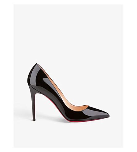 CHRISTIAN LOUBOUTIN Pigalle 100 patent calf (Black 378937397