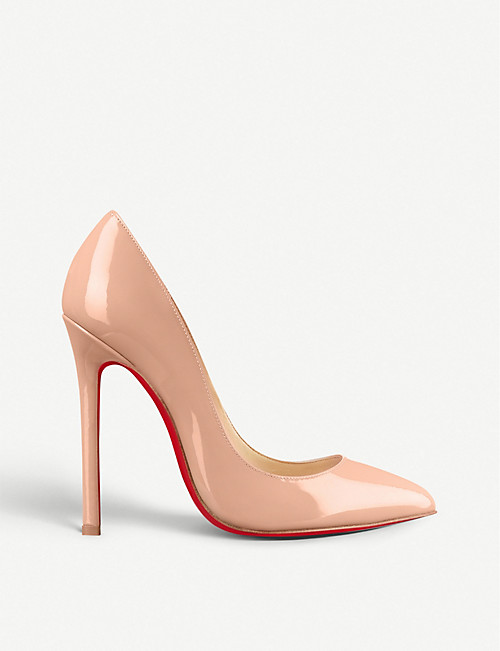 new product 089b8 e8005 CHRISTIAN LOUBOUTIN - Pigalle 120 patent calf | Selfridges.com